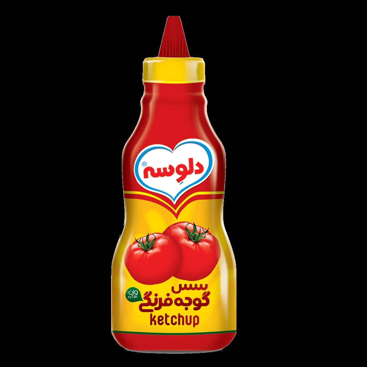سس گوجه فرنگی دلوسه700گرمی